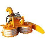 hydraulischer Heckenschneider / montiert