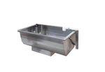 Tränke für Rinder / Trog / Metall / Multi-Access