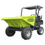 Mini-Dumper / Frontentladung / Rad / Diesel