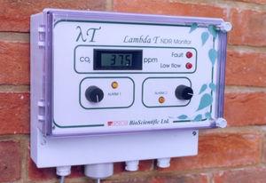 controlador de CO2 con pantalla digital