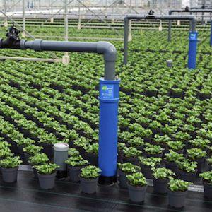 sistema de subirrigación suelo de cultivo