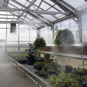 sistema de nebulización para invernadero