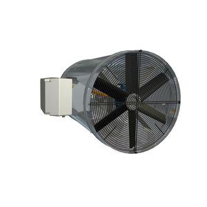 generador de aire caliente de gas / para instalación agrícola / para invernadero / suspendido