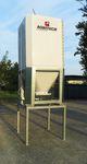 silo para cereales / para productos agroalimentarios / de fibra de vidrio / de madera