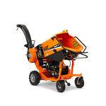 trituradora de ramas autopropulsada / con motor de gasolina / hidráulica