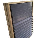 entrada de aire para criadero / para instalación agrícola / de pared / para ventilación