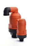 válvula para el riego / de control / con purga de aire / de plástico