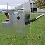 sistema de alimentación con tolva / de cañón / para la acuicultura / de vibraciones