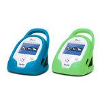 tensiómetro veterinario electrónico / portátil / automático / con manguito incorporado