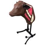maniquí para prácticas veterinarias de formación / de inyección / para vacas / cabeza