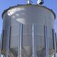 silo para cereales / para la alimentación animal / de metal / con tolva