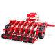 sembradora en líneas neumática / 12 hileras / montada en tractor / con control de la profundidad