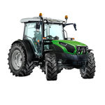tracteur power-shift / powershuttle / compact / avec cabine