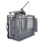 cage de traitement pour bovins / hydraulique
