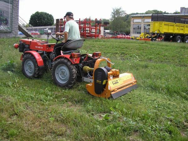 Mounted mulcher / hammer - MINI Series - BERTI Macchine