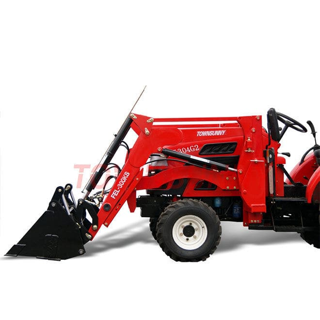Self-leveling front loader / for compact tractors - FEL