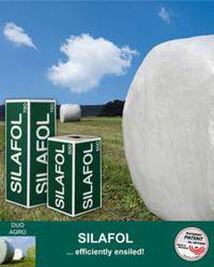 Silage film / bale wrap / polyethylene / recyclable SILAFOL DUO PLAST AG