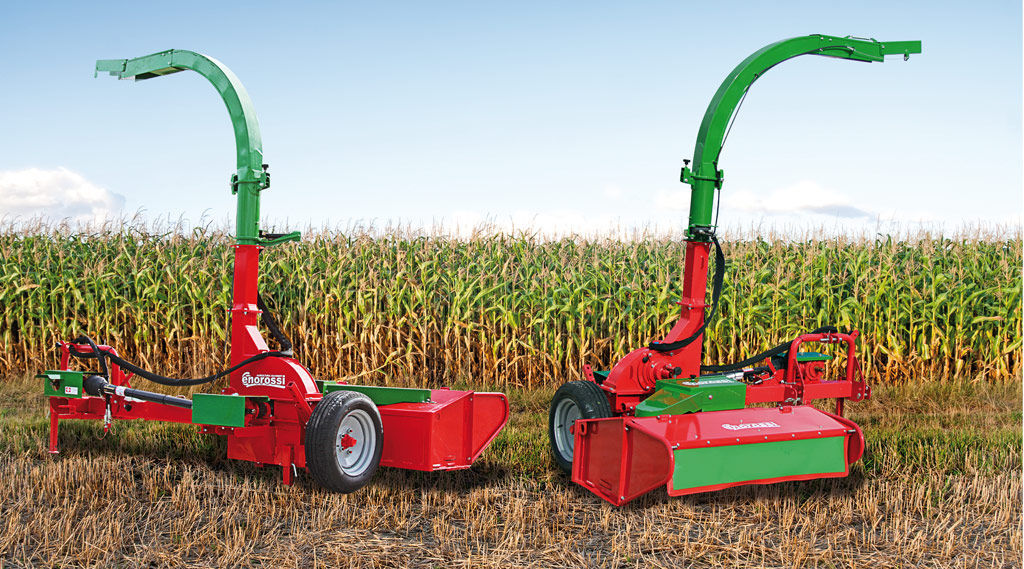 Trailed forage harvester / corn - MG 100 - Enorossi - Videos