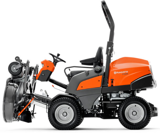 Zero-turn lawn mower / diesel - P 520D - Husqvarna - Videos
