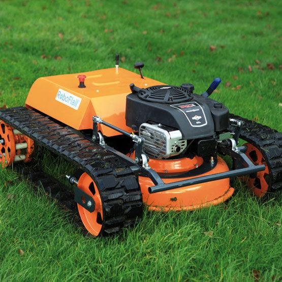 Robotic lawn mower / gasoline / self-propelled - Flail mini