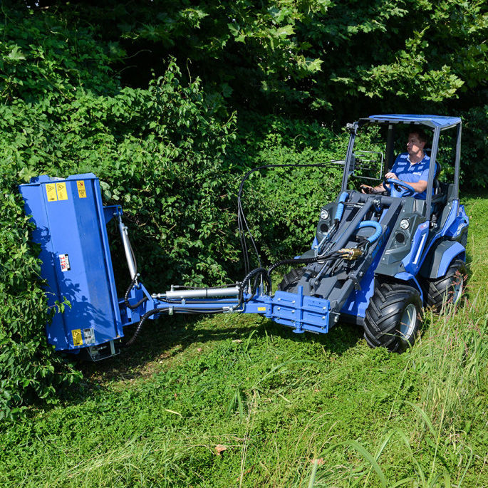Flail mower / mounted / front-mount / folding - 110, 125