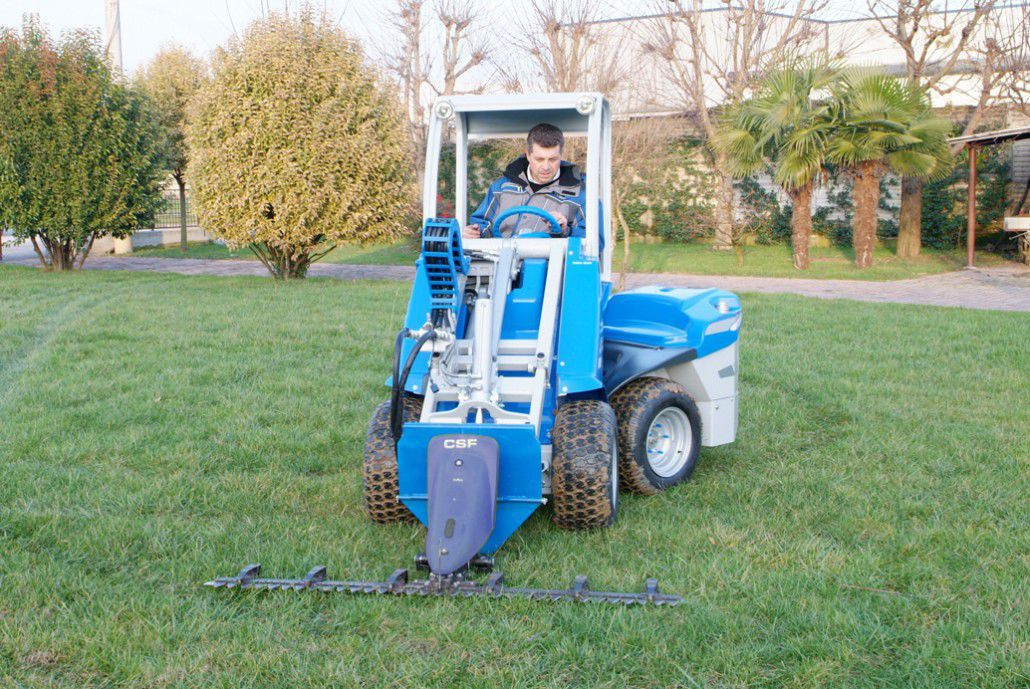 Sickle bar mower / mounted - C890653, C890654 - MULTIONE s r l  - Videos