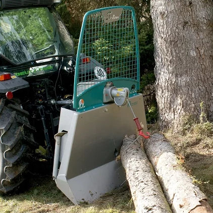 Mechanically-operated forestry winch - S-line - Pfanzelt