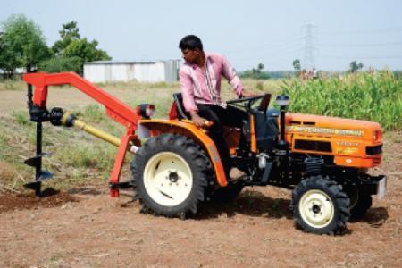 Post hole auger - VST Tillers Tractors Ltd  - Videos