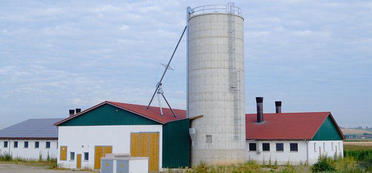 Grain silo / concrete / hopper - Wolf System GmbH