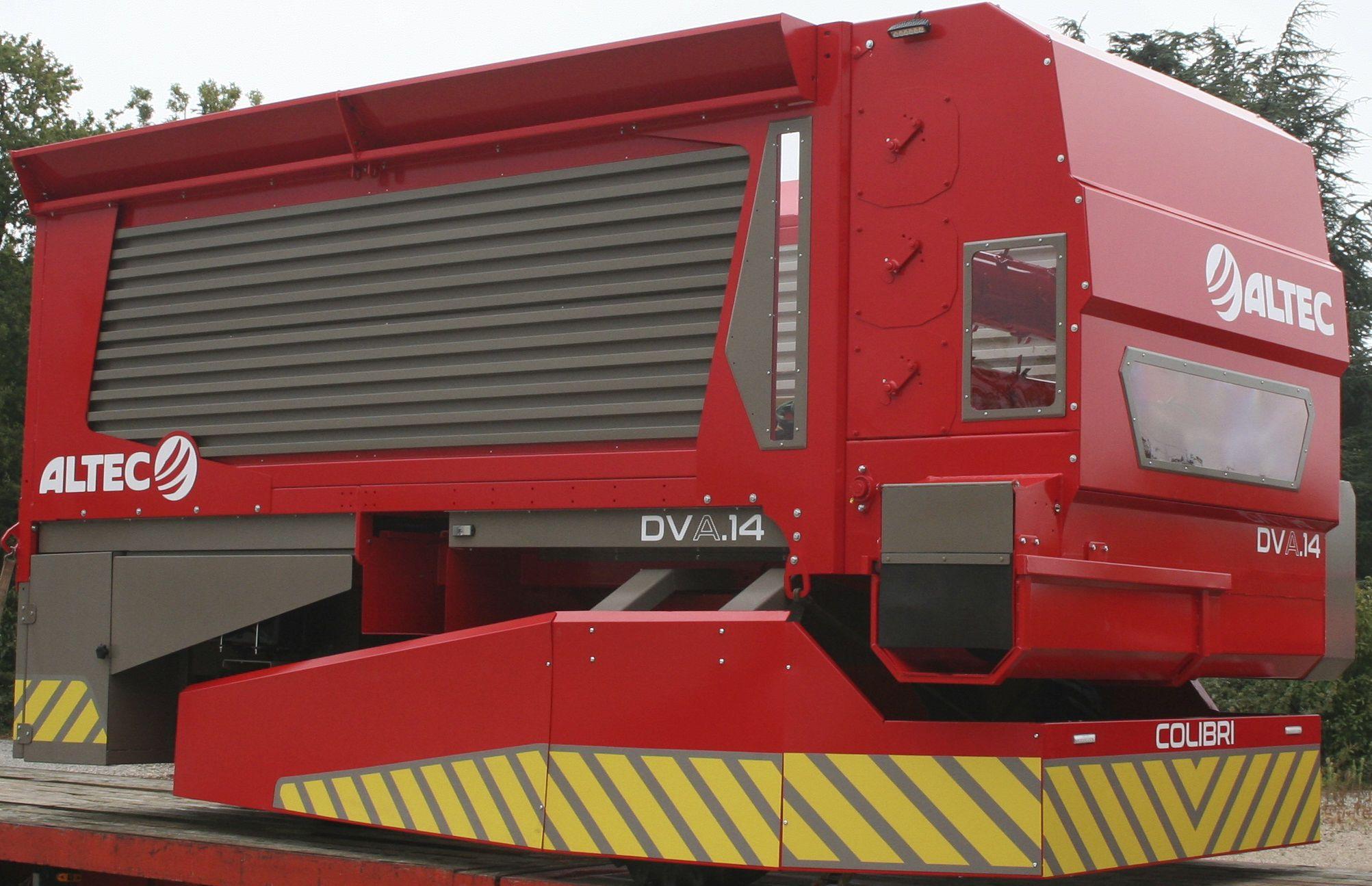 Cattle feed distributor / automatic - COLIBRI DVA 14 - ALTEC SAS