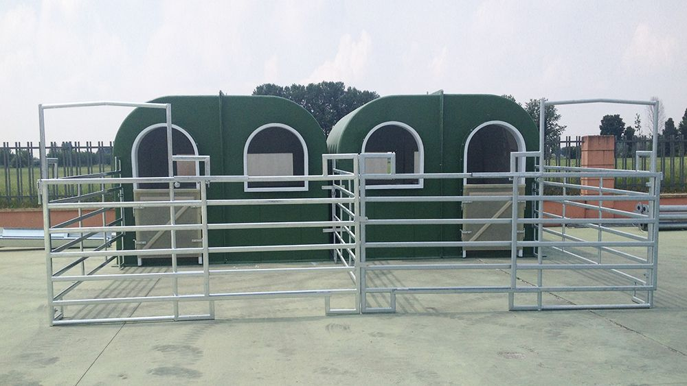 Modular building / prefab / barn / for horses - LODA s r l