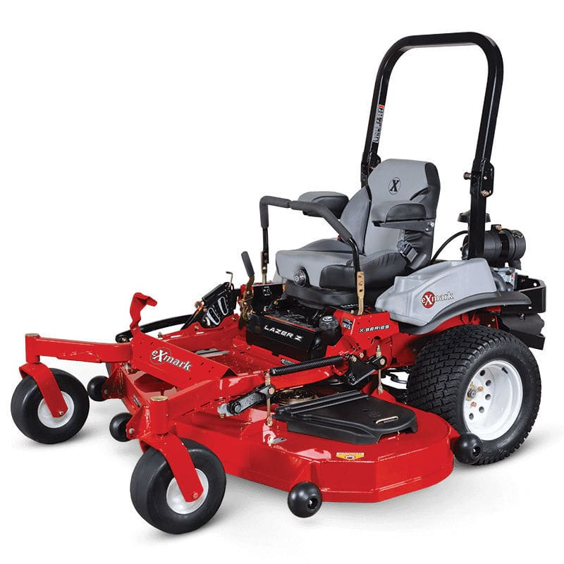 Zero-turn lawn mower / gasoline / for sloped terrain RED Exmark  Manufacturing
