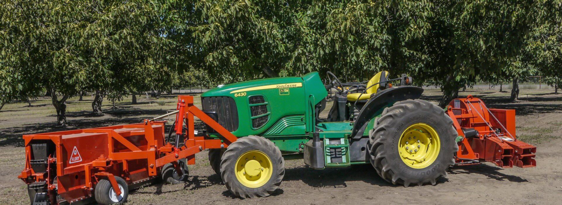 Tractor-mounted sweeper / arboriculture / aligning - 9685/9610