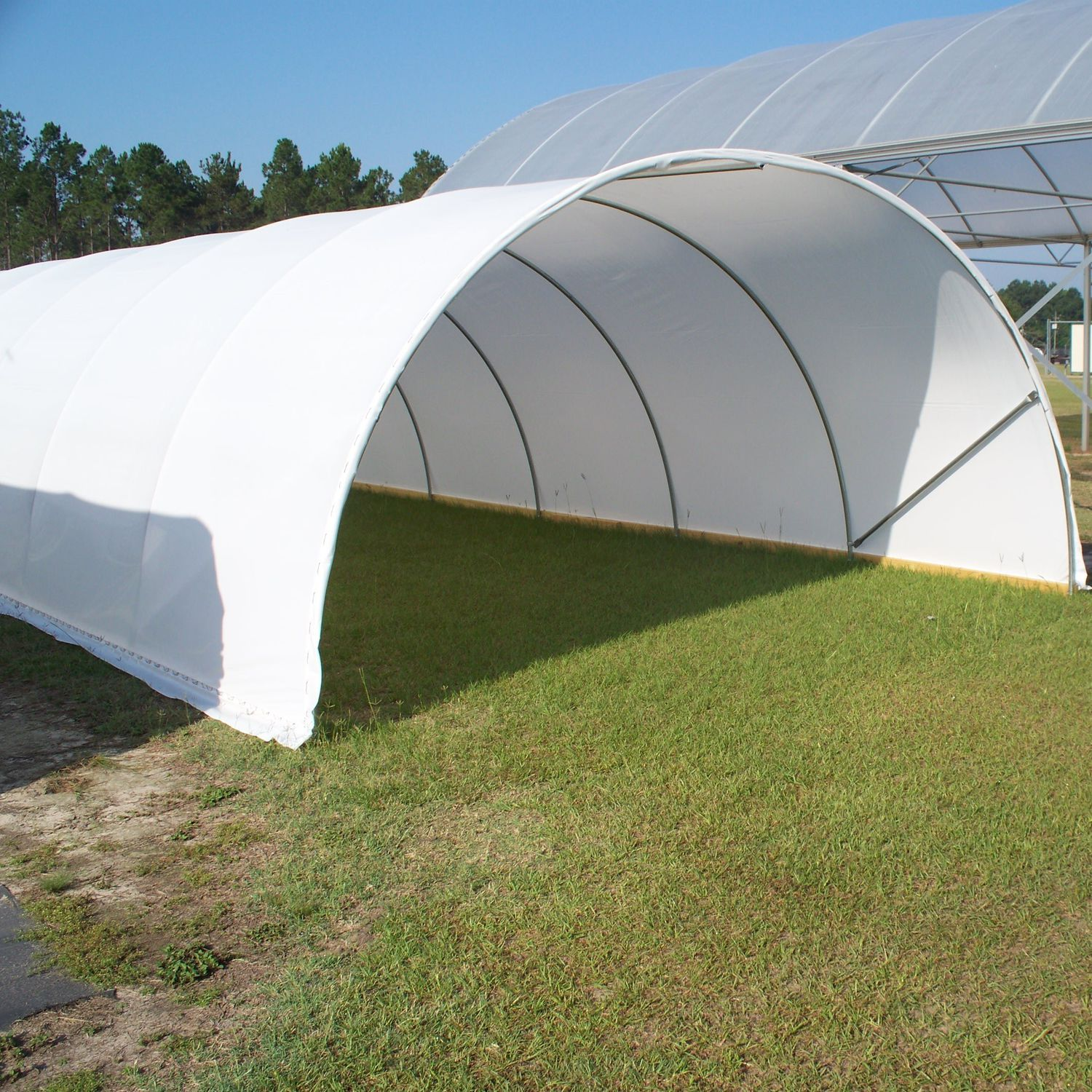 Modular building / tunnel - Cold Frame - Atlas Manufacturing Inc