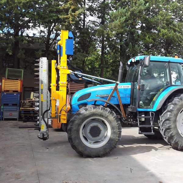 Arboriculture pruning machine / tractor-mounted / sickle bar / hydraulic  BGP 6500A OFFICINA MECCANICA B E G