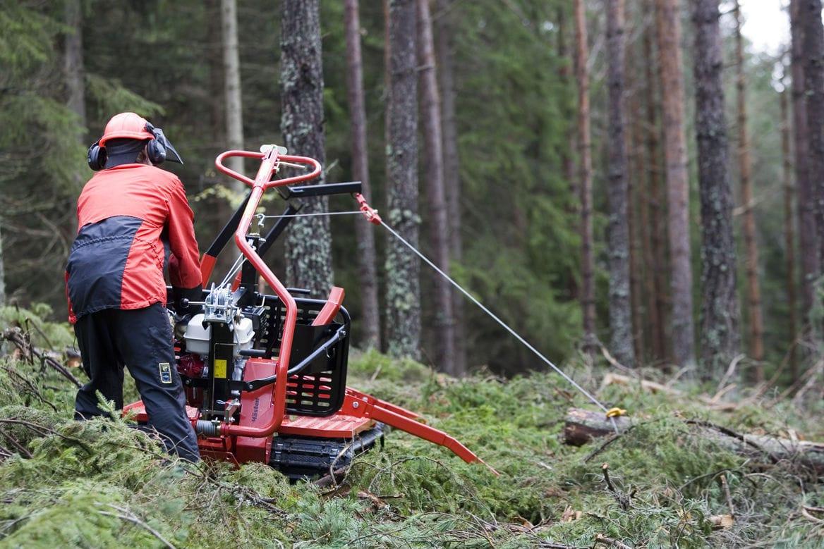 Forestry winch - IronHorse Classic - Lennartsfors AB