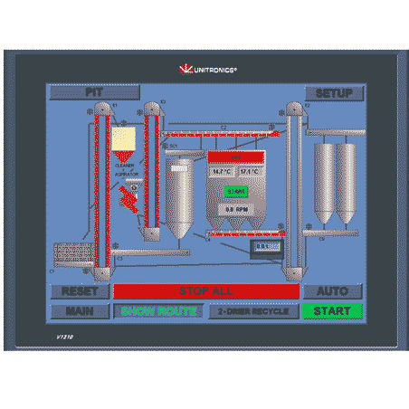 Grain dryer control system Perry Engineering Services Ltd