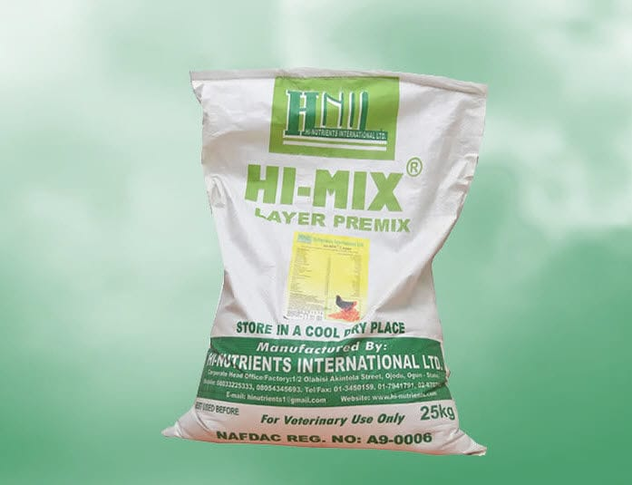 Animal feed supplement / poultry / mineral / vitamin - HI-MIX