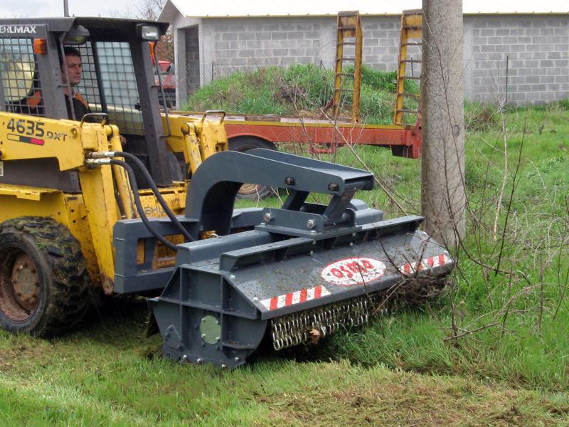 Flail mower / mounted / grass - SS/CL Series - osma