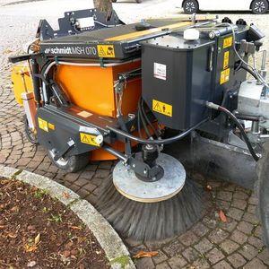 trailed sweeper