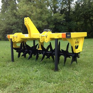 trailed soil aerator