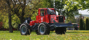 forestry tractor / mechanical transmission / compact