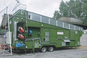 grain dryer / waste / mobile
