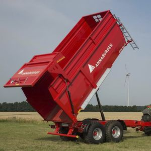 dump trailer / 2-axle / agricultural / forestry