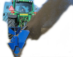 single-wheel ditch cleaner