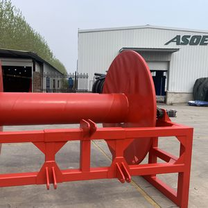 irrigation drag hose reel