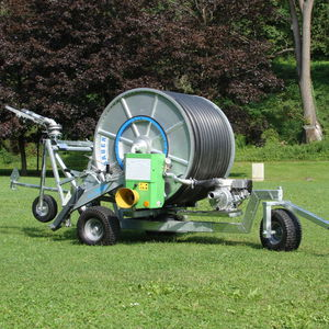 irrigation hose traveler / turbine-drive