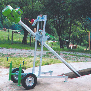 inclined slurry mixer / electrically-powered