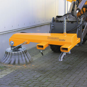 mounted sweeper / groundcare / barn / front-mount