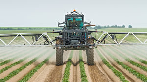 self-propelled sprayer / folding arms / thermal / centrifugal